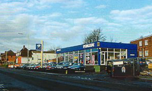 Car Showroom, Salisbury